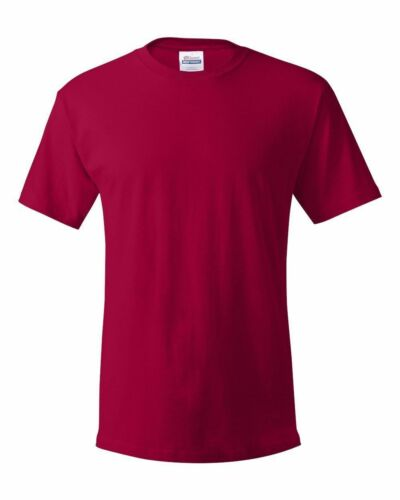 Hanes NEW Men/'s Size S M L-2XL 3XL 4XL Tees 100/% ComfortSoft Cotton T-Shirt 5280