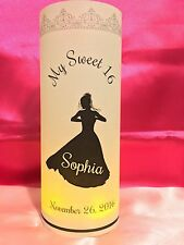 10 Personalized Sweet 16 Birthday Luminaries Party Centerpieces Decorations #1