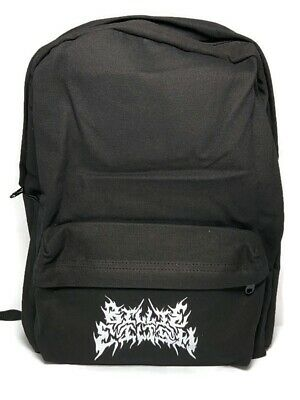 Billie Eilish inspired black backpack
