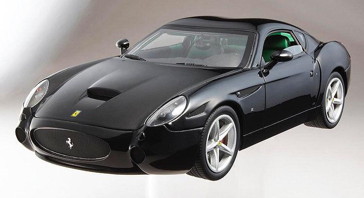 FERRARI 575 GTZ ZAGATO Noir par Hot Wheels Elite Edition 1 18 neuf livraison gratuite