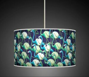 TROPICAL FLAMINGO HANDMADE LAMPSHADE CEILING TABLE LAMPSHADE 932 TEAL GREEN BLUE - Glasgow, Glasgow (City of), United Kingdom - Returns accepted Most purchases from business sellers are protected by the Consumer Contract Regulations 2013 which give you the right to cancel the purchase within 14 days after the day you receive the item. F - Glasgow, Glasgow (City of), United Kingdom