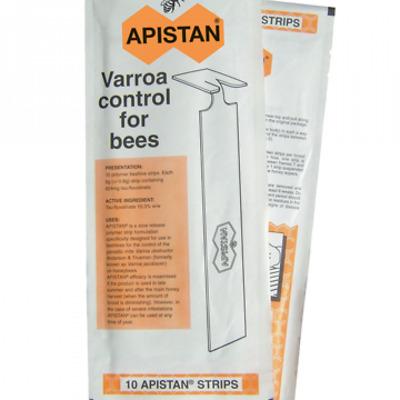 APISTAN Pestizid für Kampf Varroa 1 Paket ab 10 Streifen