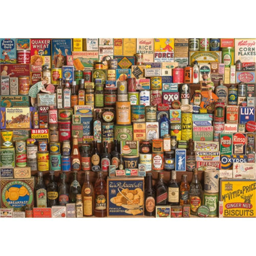 Gibsons The Brands That Built Britain Jigsaw Puzzle (1000 Pieces)