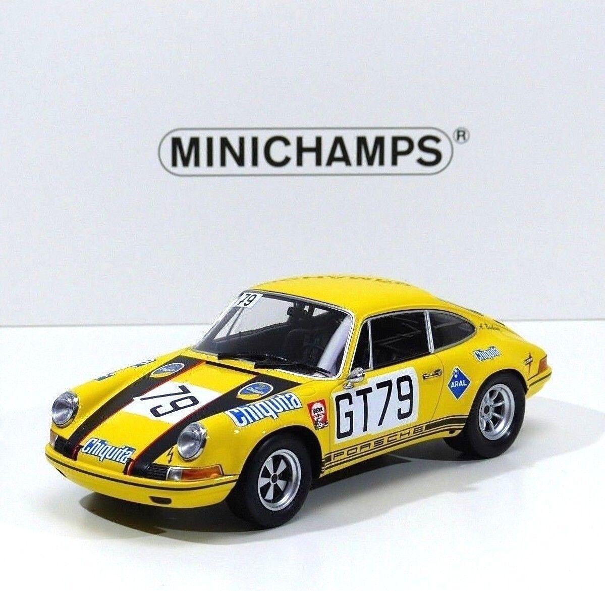 Porsche 911 S AAW gai, Toivonen  79 1000 HM Nurburgring 1970 Minichamps 1 18