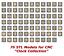 76-3d-STL-Models-034-Clock-Collection-034-for-CNC-artcam-3d-printer-aspire thumbnail 1