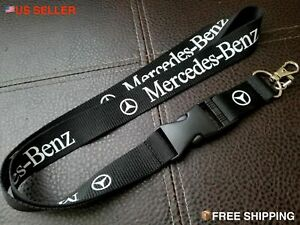 AMG Mercedes Benz STYLISH Car Lanyard Keychain ID Badge Neck Strap NEW