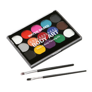 Face Paint Kit For Kids Professional Face Body Paint Easy To Painting Ebay