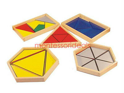 New Montessori Constructive Triangles