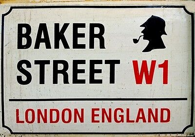 London England Street SIGN A4 POSTERS  30x21cm Famous Retro Vintage UK BRITISH
