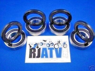 Yamaha Kodiak 400 450 YFM400A YFM400F YFM450F 1993-2006 BOTH Front Wheel Bearing and Seal Kits
