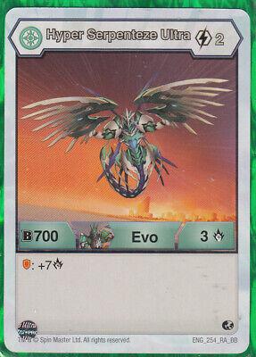 Hyper Serpenteze Evo Card 1 x Bakugan Resurgence ENG 127 AR  BR  New