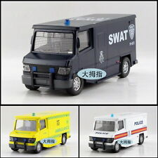 Classic SWAT/AMBULANCE/POLICE Car Model Toy Sound Light X1PC & Gift