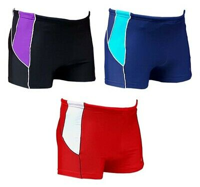 ACCLAIM Wollongong Slim Fit Boxer Trunks Mens Tie Cord Nylon 20/% Lycra Swimming