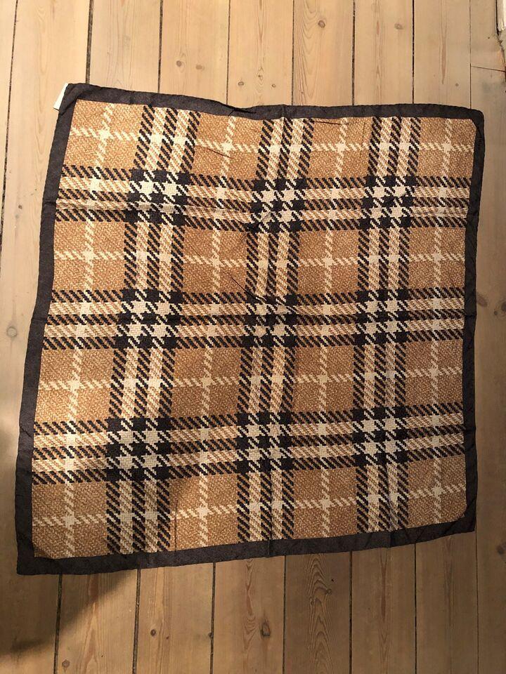 Tørklæde, 100% silke, Burberry