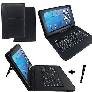 gigaset qv1030 10 1 tablet pc tasche mit keyboard 10 zoll tastatur schwarz ebay. Black Bedroom Furniture Sets. Home Design Ideas