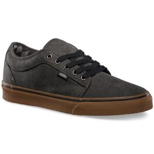 2b6d02426c16cd VANS Chukka Low (Washed) Black Gum Classic Shoes MEN S 7.5 WOMEN S 9 ...
