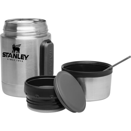 All-In-One Stainless Steel Vacuum Insulated Food Jar Stanley Adventure 18 oz