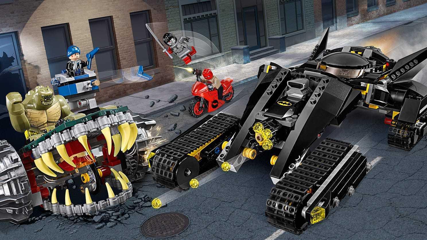 LEGO 76055 Batman™ duello nelle fogne con Killer Croc™ SUPER HEROES 8-14anni