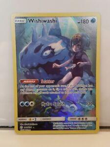 WISHIWASHI-240-236-Sun-amp-Moon-Cosmic-Eclipse-mint-holo-secret-rare-Pokemon