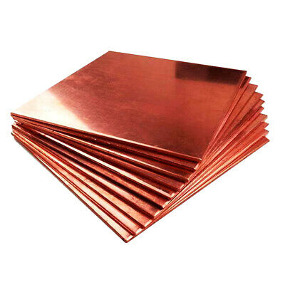 1pc Copper Metal Sheet Cathode Plate for Hull Cell 0.25mm x 100mm x 65mm