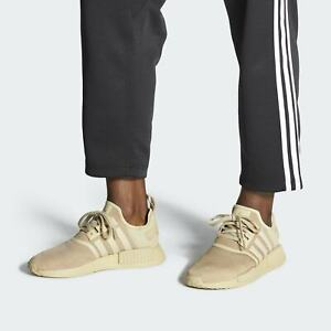 NEW-170-adidas-Men-039-s-NMD-R1-SHOES-SAVANNAH-CORE-BLACK-FW6416