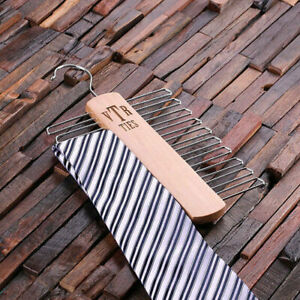 Personalised-Wooden-Tie-Hanger-Gift-for-Men-Add-a-name-monogram-or-logo