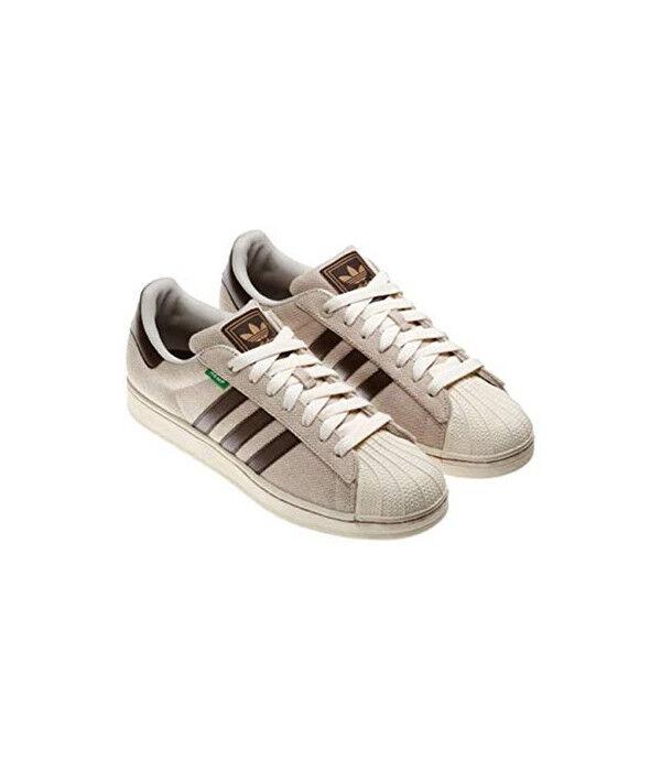 MENS adidas Superstar II 2 HEMP Bliss Tan Brown Q33006 Size 7 US shoes New