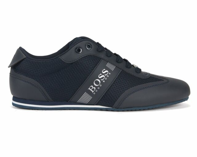 elegant in style shop for hot-selling fashion Hugo Boss Lighter Lowp Mxme 50370438 401 Mens Trainers Dark Blue Sneakers  Shoes