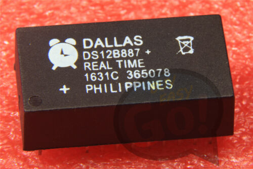 DS12B887 1PCS Manufacturer:DALLAS Encapsulation:DIP,Real Time Clock