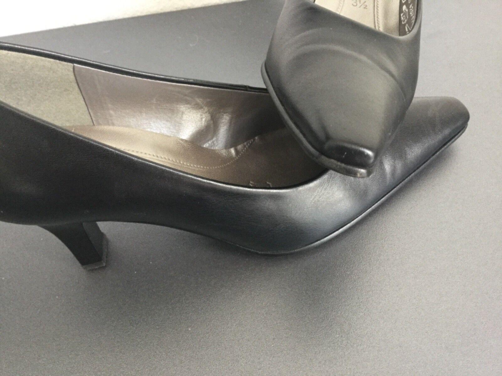 Gabor eleganter Leder, Pumps schwarz, 37, 3,5, Leder, eleganter 6 cm Absatz, chic, neuwertig 72e81c