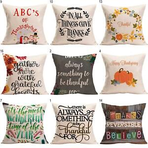 Am-Thanksgiving-Decor-Cushion-Cover-Home-Sofa-Car-Bed-Linen-Pillow-Case-Surpris