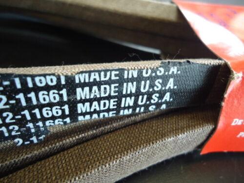 """Deck PTO Belt 54/"""" Cub Cadet 13AK11CK712 GT2300 954-0642 112-0933 USA MADE"""