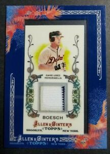 2011-Allen-amp-Ginter-039-s-AGR-BBO-Brennan-Boesch-TIGERS-Game-Used-Relic-card-NM-MT