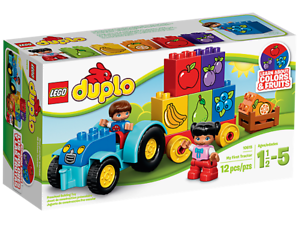 NEW-LEGO-DUPLO-MY-FIRST-TRACTOR-10615-SEALED