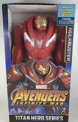 MARVEL AVENGERS INFINITY guerre Hulkbuster Titan Hero Série Power FX Boîtier Endommagé
