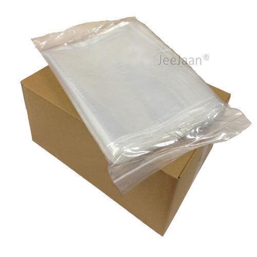 toutes Tailles Grip Seal Sacs Auto Auto-Adhésive Adhérence poly plastique transparent Zip Lock Mix