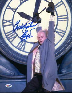 CHRISTOPHER-LLOYD-SIGNED-11X14-PHOTO-BACK-TO-THE-FUTURE-DOC-BROWN-AUTO-PSA-DNA-I