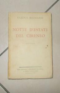 NOTTE-D-039-ESTATE-DEL-CIRENEO-Novelle-Sardus-Madesani-Quaderni-Di-Poesia-Libro