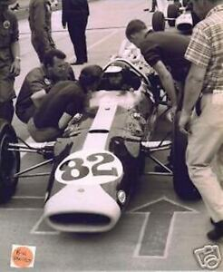 JIM CLARK 1965 INDY 500 COLIN CHAPMAN LOTUS FORD WINNER 8 X 10 PHOTO