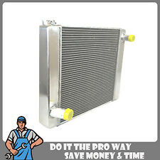 "New Universal Fabricated Aluminum Racing Radiator Ford/Mopar 22"" x 19"" X 3''"