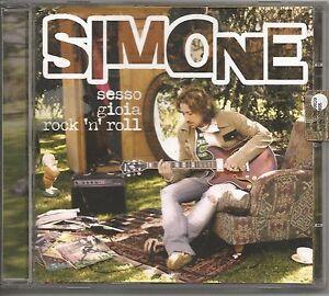 SIMONE-Tomassini-Sesso-gioia-rock-039-n-039-roll-CD-2006-COME-NUOVO-UNPLAYED