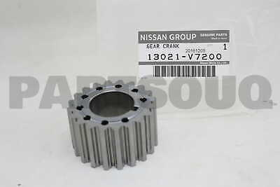 130215X00A Genuine Nissan SPROCKET-CRANKSHAFT 13021-5X00A