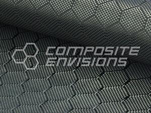 """Carbon Fiber Cloth Fabric Honeycomb 50"""" 3k 7.2oz"""