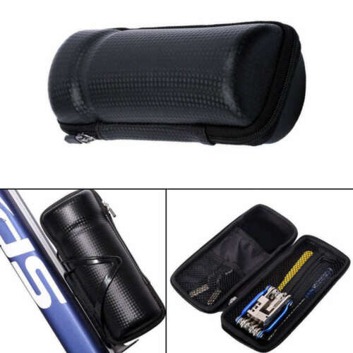 Bicycle Tool Bag Cycling Tool Bottle Cage Storage Box For Key Repair To EGJ