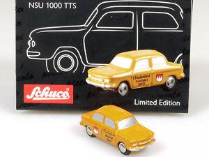 Schuco-50537002-Piccolo-NSU-Prinz-1000-TTS-francs-Landau-Voyage-Neuf-dans-sa-boite-1401-17-32