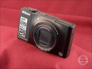 Nikon-Coolpix-S8000-14MP-10x-Zoom-Digital-Camera-inc-Battery-amp-Charger-9992