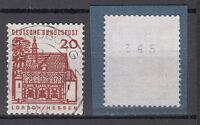 BRD 1964 Mi. Nr. 456 R Gestempelt Rollmarke mit Nr. TOP!!! (20113)