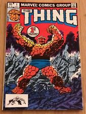 The Thing #1 (Jul 1983, Marvel)