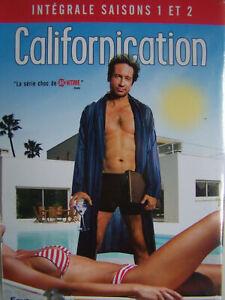COFFRET DVD SERIE : CALIFORNICATION : SAISONS 1 ET 2 - DAVID DUCHOVNY DE X-FILES