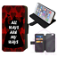 ALICE-IN-WONDERLAND-Mad-Hatter-Wallet-Flip-Phone-Case-iPhone-4-5-6-7-8-Plus-X thumbnail 15